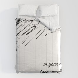 In Your Smile. Comforters