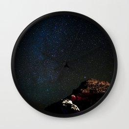 Stars in Maui Wall Clock