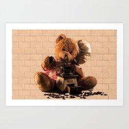 Coffeebaer Art Print