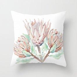 Protea #society6 #buyart Throw Pillow