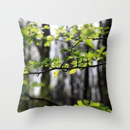 Waldlichter Throw Pillow