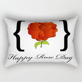 Happy Rose day february 7th- valentine month gifts for lovers Rectangular Pillow