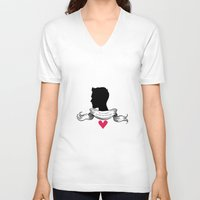 derek hale V-neck T-shirts featuring Derek Hale by smartypants