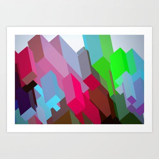 City 05. Art Print