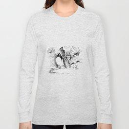Martian Wintertime Long Sleeve T-shirt