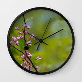 Bumble and Inch by Teresa Thompson Wall Clock