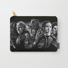 Freddy Krueger Jason Voorhees Michael Myers leatherface Darth Vader Blackest of the Black Carry-All Pouch