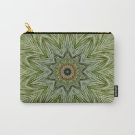 White pine kaleidoscope/mandala II Carry-All Pouch