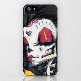 Madame Muerte PAINT iPhone Case