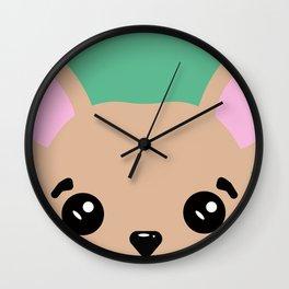 Dog 3 Wall Clock