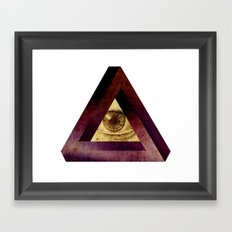higheye Framed Art Print
