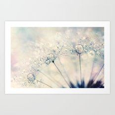 Dandy Drops Art Print