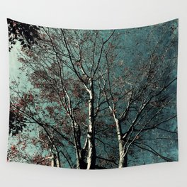 The Trees – Gloomy Days Wall Tapestry