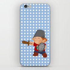 little knight, playing to grow iPhone & iPod Skin