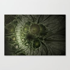 Fractal Moss Canvas Print