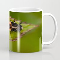 bug Mugs featuring Bug by Wealie