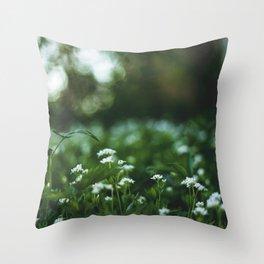 Flower photography by stephan cassara Throw Pillow