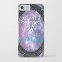 stargate iPhone & iPod Cases featuring Pegasus gate by Samy