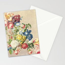 Floral tribute to Louis McNeice (Light) Stationery Cards