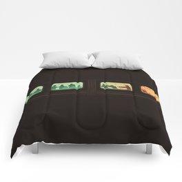 Ground Zero - Zombie Subway Comforters