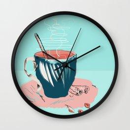 coffee with love Wall Clock