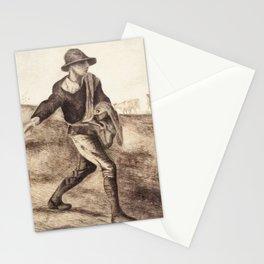 Vincent van Gogh - Sower (after Millet, 1881) Stationery Cards