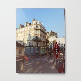 Paris Block Metal Print