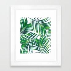 Palm Paradise #society6 #decor #buyart Framed Art Print