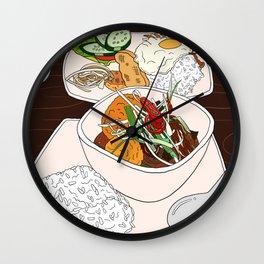 Vietnamese Food Treat Wall Clock