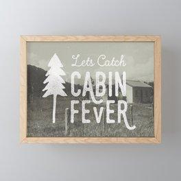 CABIN FEVER Framed Mini Art Print