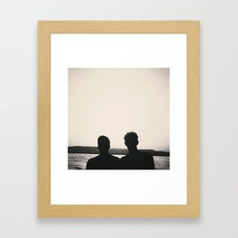 .shadow without sun.  Framed Art Print