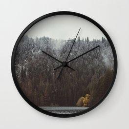 Two seasons Wall Clock