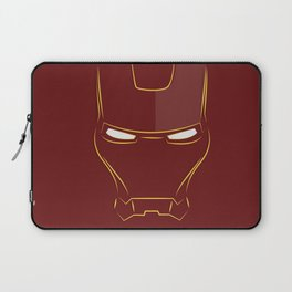 iron man face Laptop Sleeve