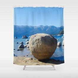 The Organic Placement of Nature Shower Curtain