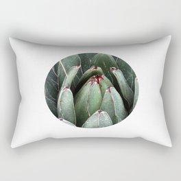 ALOE VERA PLANT ART PHOTO Close Up Plant Leaves Decor Rectangular Pillow