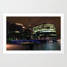 Shard London Bridge | colored Art Print
