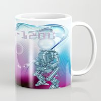aliens Mugs featuring aliens by amanvel