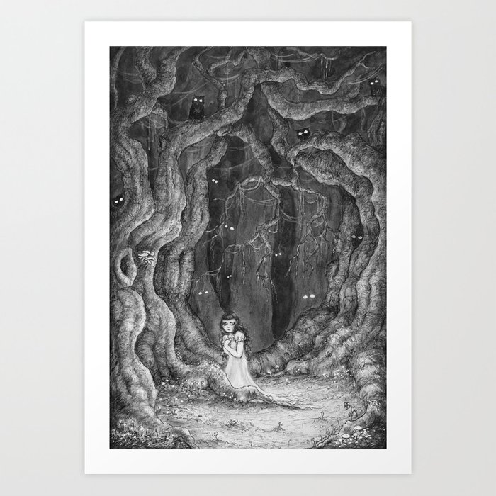 You are never alone Art Print