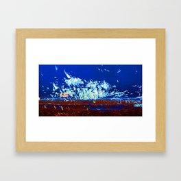 Explosion 1 Framed Art Print