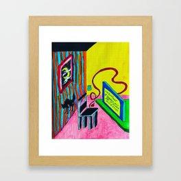 9 Framed Art Print