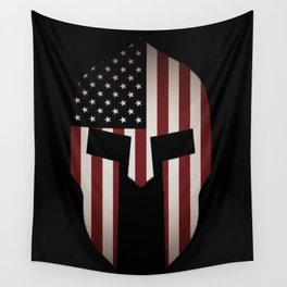 USA Spartan  Wall Tapestry