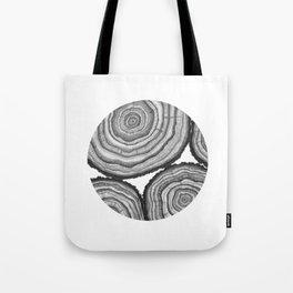 Tree Rings- Circle Tote Bag