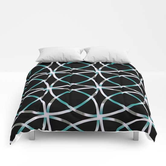 Intersecting Rings Fractal in TPGY Comforters