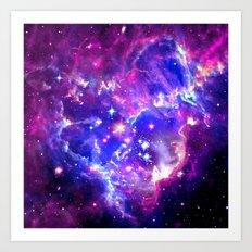 Galaxy. Art Print