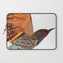Flying bird Flicker Geometric Nature Laptop Sleeve