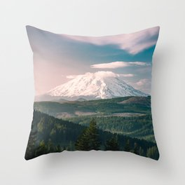 Saints and Sinners - 126/365 Nature Photography Mount St. Helens Throw Pillow