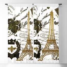 La Tour Eiffel Blackout Curtain