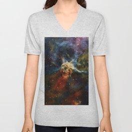 Carina Nebula 2 Unisex V-Neck