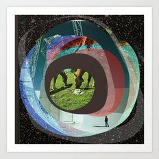 the abstract dream 15 Art Print