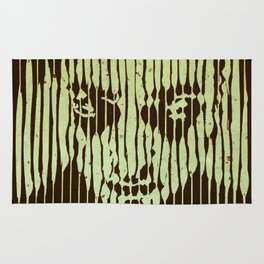 no casualities - green version Rug